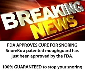 Stop Snoring Device - Breaking News